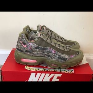 f28ba4698b Nike Shoes | Air Max 95 Floral Camo Womens | Poshmark